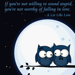 Quotes from A Lot Like Love