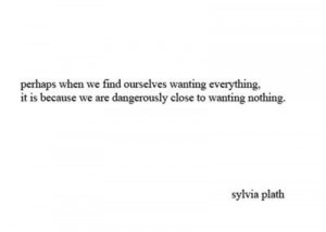My Love Of Sylvia Plath
