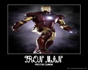 Iron Man Motivational Poster...