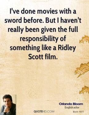 Ridley Scott Quotes