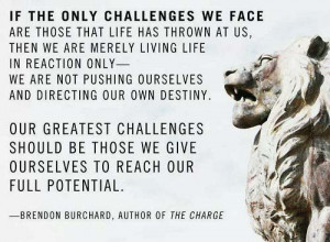 Brendon Burchard Picture Quote