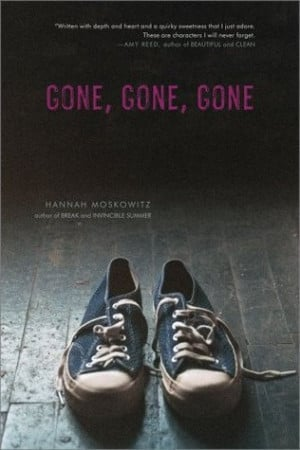 from now my 4th book gone gone gone comes out