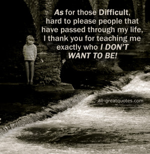 Quotes Difficult People