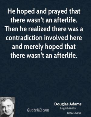 Douglas Adams Religion Quotes