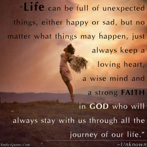 Faith Quotes About Life