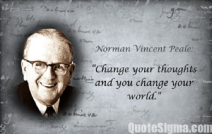 Best Norman Vincent Peale Quotes
