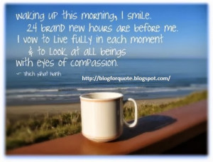 Morning Quote : Start A New Day
