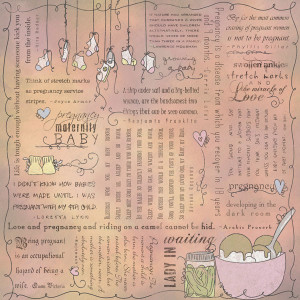 Pregnancy Scrapbook Quotes Scrapbook customs - religious