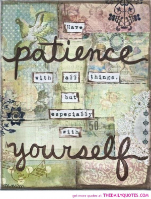 patience quotes and sayings