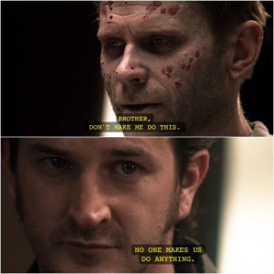 Lucifer and Gabriel | Supernatural quotes: Supernatural Quotes