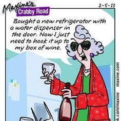 little Thirsty Thursday Maxine humor :)