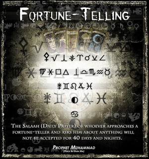 Islamic Quotes and More on Fortune-Telling ..