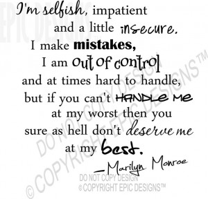 Insecurity Quotes And Sayings http://www.pinterest.com/pin ...