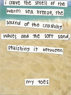 beach #summer #quotes +++For more quotes like this, visit www ...
