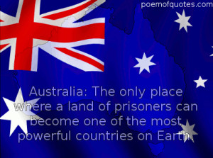 graphic for Australia Day with a quote