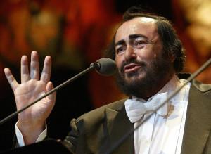 Luciano Pavarotti Poze rezolutie mare Luciano Pavarotti - Acto