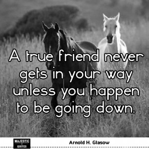 short friendship quotes for pictures quote a true friend never gets in ...
