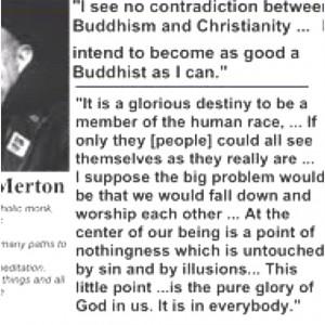 Thomas Merton quote.