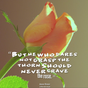 Quotes About: roses