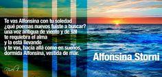 Alfonsina Storni More