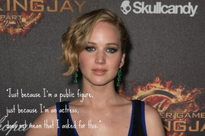 Jennifer Lawrence Speaks Out Against Nude Photo Hack: 'It's My ...