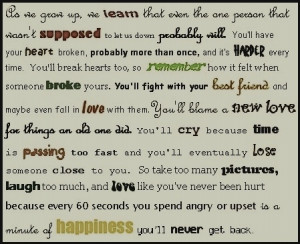 Quotes About Staying Strong...