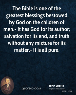 Blessing Quotes From the Bible