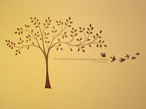 Decor Elements tree Christian Sympathy Quotes