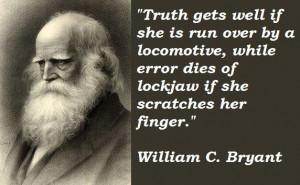 William C Bryant Quote