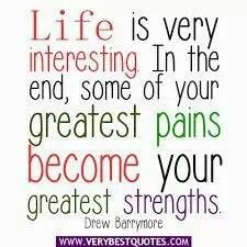 Pain = Strength