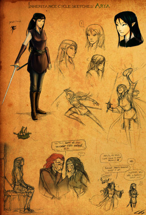 Arya Sketches by Ticcy