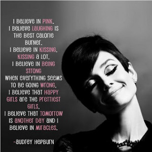 Audrey Hepburn Quote: