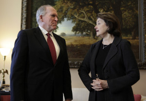 ... John Brennan, nominee for CIA Director, on Capitol Hill in Washington