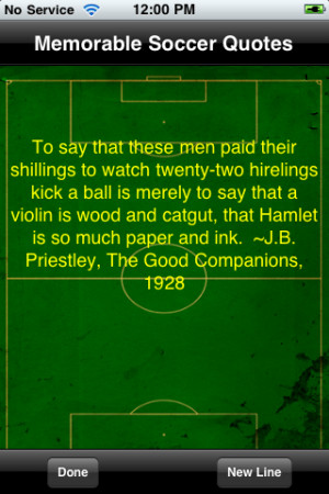More apps related Soccer's Most Memorable Quotes