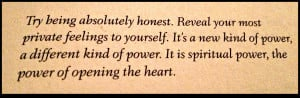 Awesome Quote Open Your Heart Reveal Beautiful Soul Vide Ohs