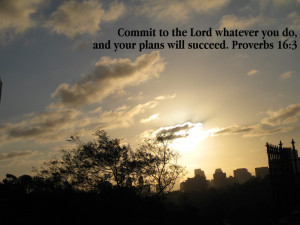 ... The Lord Whatever You Do, And Your Plans Will Succeed Facebook Quote
