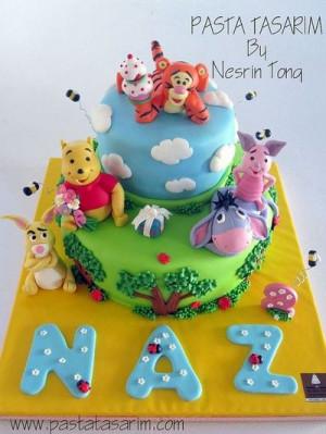 WINNIE THE POOH CAKE - NAZ BIRTHDAY CAKE by CAKE BY NESRİN TONG, via ...