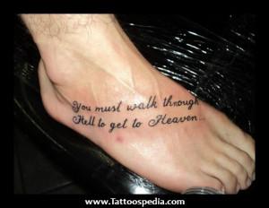 Xavier Rudd Foot Tattoos