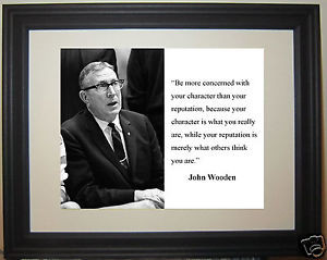 Coach-John-Wooden-UCLA-character-Quote-Framed-Photo-b1