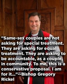 their religion and religious beliefs as a way to say that gay marriage ...