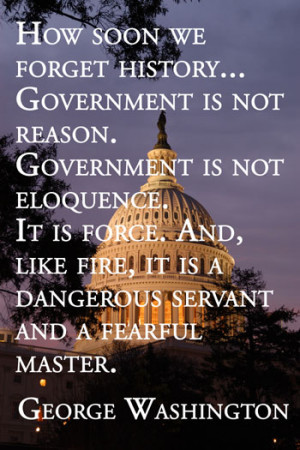 quote poster quote art print, George Washington Capitol Hill quotes ...