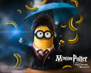 Download Minion Potter Chamber Of Bananas HD Wallpaper. Search more ...