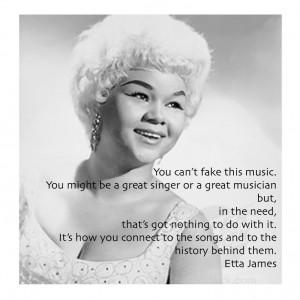 ... Quotes, Musicquotes Musiclegend, Singing Quotes, Etta James Quotes