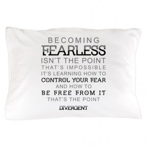 Divergent - Fearless Quote Pillow Case