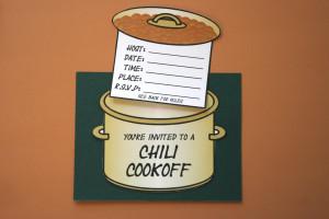 Printable Invitation For Chili Cookoff