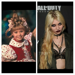 ... taylor momsen the pretty reckless grinch pointless post Cindy Lou Who