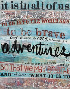 adventure, free, life, quote, travel, typography