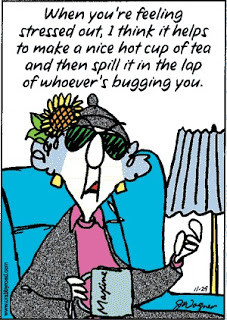 Stressed Out Maxine!