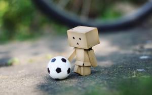 要是你赢了的话,我就把足球送给你,要是你输了的 ...