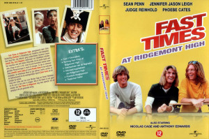Fast Times At Ridgemont High Dvd Cover